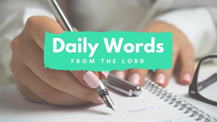 Daily Words from the Lord