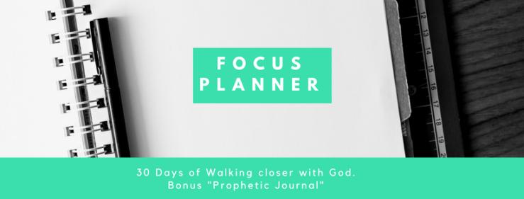 Focus Planner header